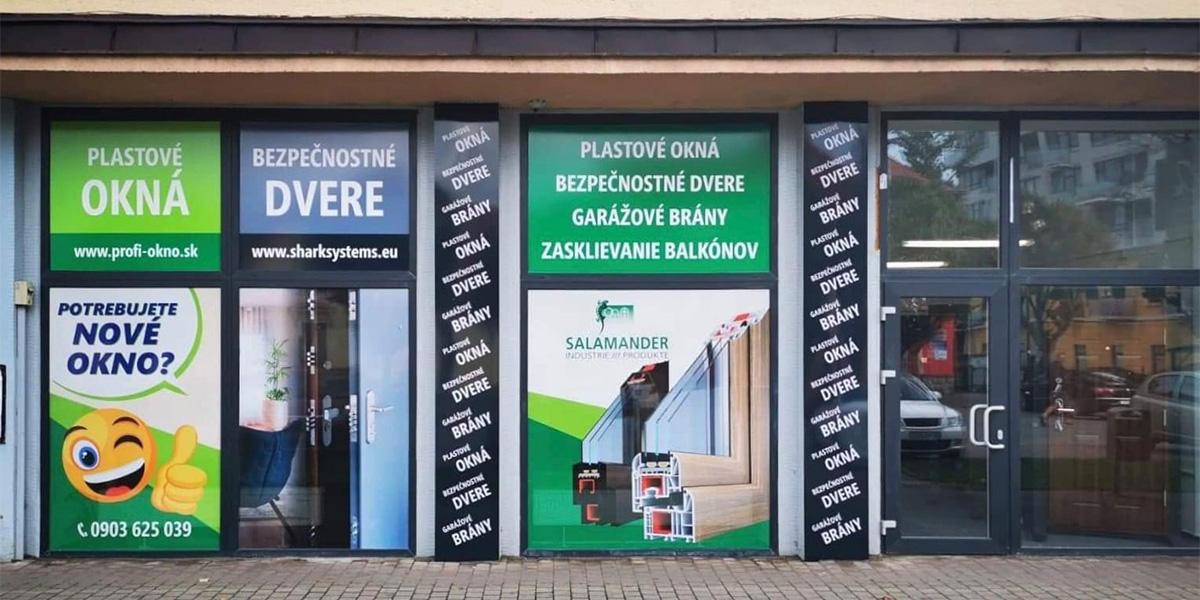 Predajňa profi-okno.sk v Poprade